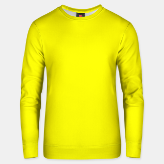 Thumbnail image of Yellow Lemon Solid Color Background Unisex sweater, Live Heroes