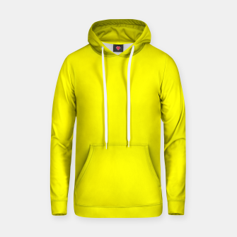 Thumbnail image of Yellow Lemon Solid Color Background Hoodie, Live Heroes