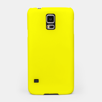 Thumbnail image of Yellow Lemon Solid Color Background Samsung Case, Live Heroes