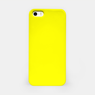 Thumbnail image of Yellow Lemon Solid Color Background iPhone Case, Live Heroes