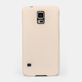 Thumbnail image of Light Brown Almond Solid Color Background Samsung Case, Live Heroes