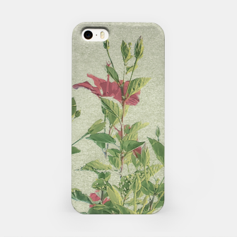 Miniatur Botanical Vintage Style Motif Artwork iPhone Case, Live Heroes