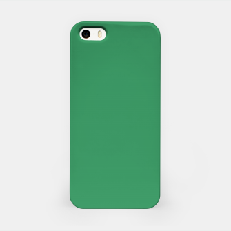 Miniatur color sea green iPhone Case, Live Heroes