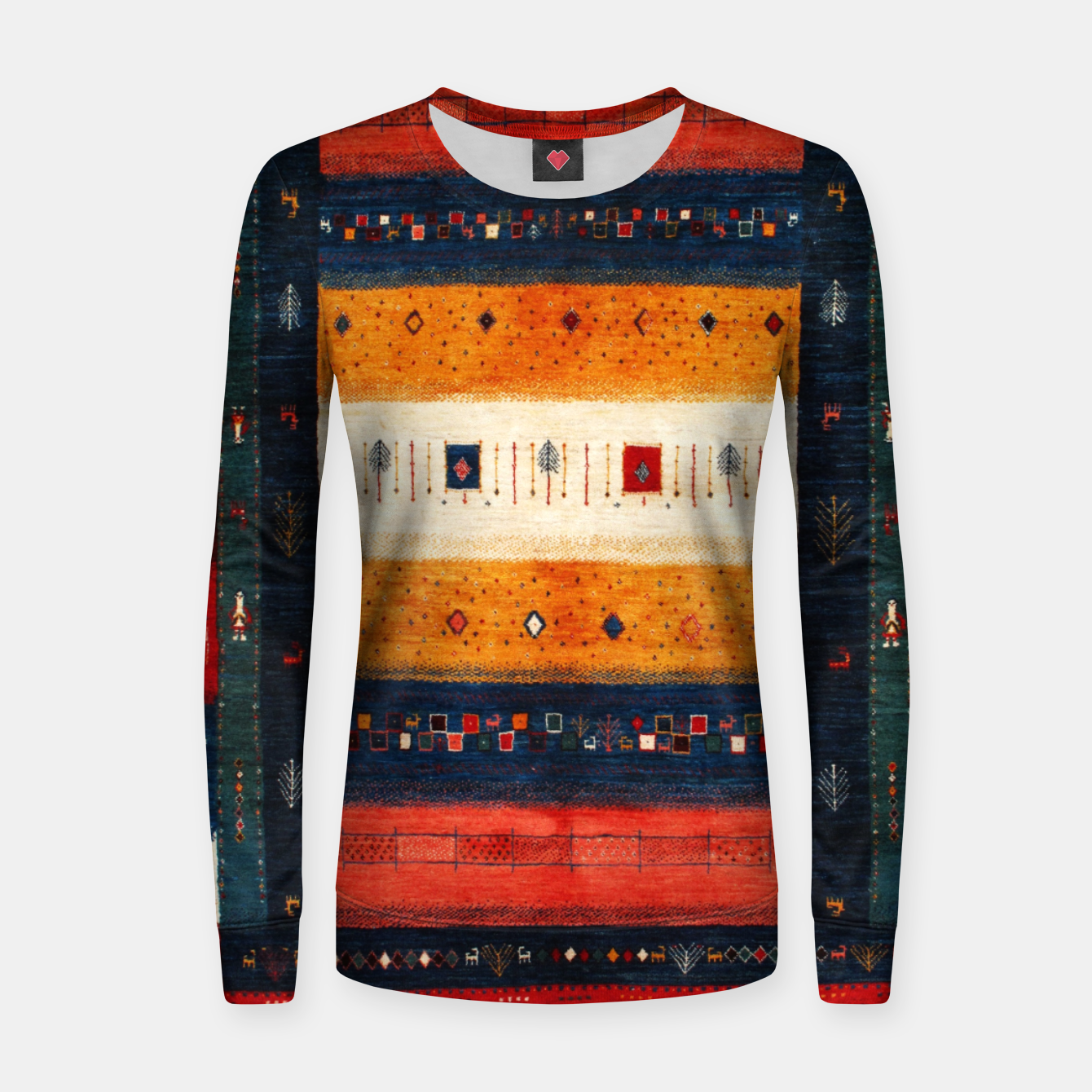 Image of Boho Traditiona Moroccan Artwork Women sweater - Live Heroes