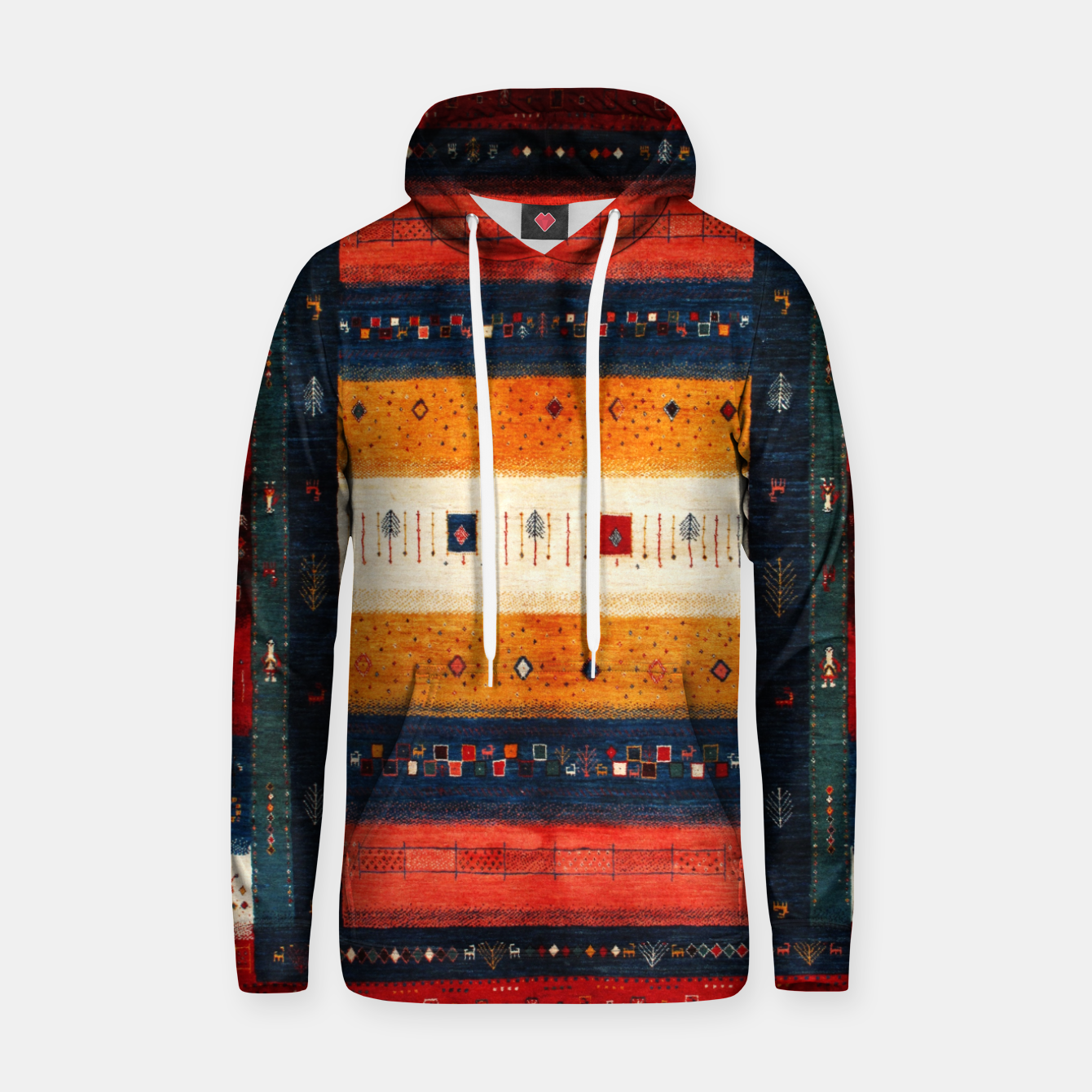 Image of Boho Traditiona Moroccan Artwork Hoodie - Live Heroes