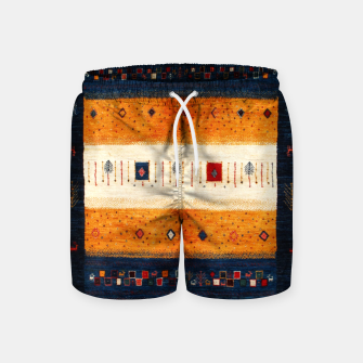 Boho Traditiona Moroccan Artwork Swim Shorts thumbnail image
