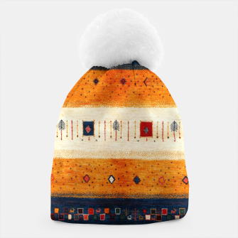 Boho Traditiona Moroccan Artwork Beanie thumbnail image