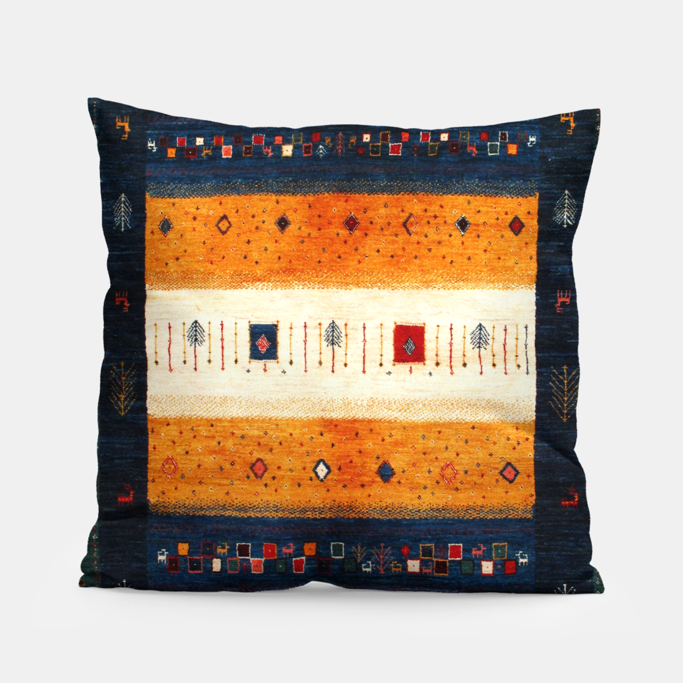 Image of Boho Traditiona Moroccan Artwork Pillow - Live Heroes