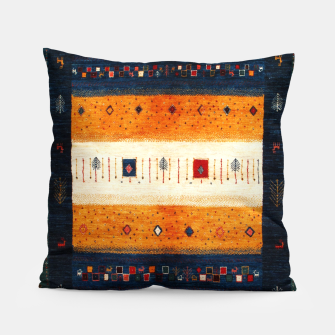 Boho Traditiona Moroccan Artwork Pillow thumbnail image