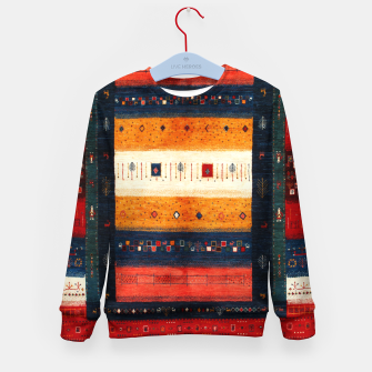 Thumbnail image of Boho Traditiona Moroccan Artwork Kid's sweater, Live Heroes