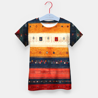 Boho Traditiona Moroccan Artwork Kid's t-shirt thumbnail image