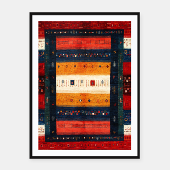 Boho Traditiona Moroccan Artwork Framed poster thumbnail image