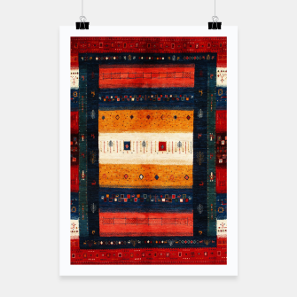 Boho Traditiona Moroccan Artwork Poster thumbnail image