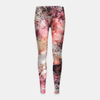 Thumbnail image of Pink stone Girl's leggings, Live Heroes