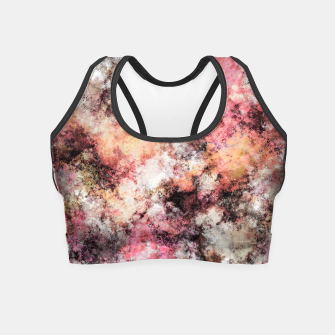 Thumbnail image of Pink stone Crop Top, Live Heroes
