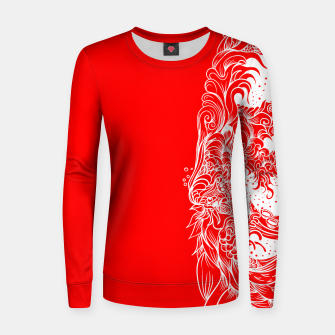 Imagen en miniatura de Sleeve Red Women sweater, Live Heroes