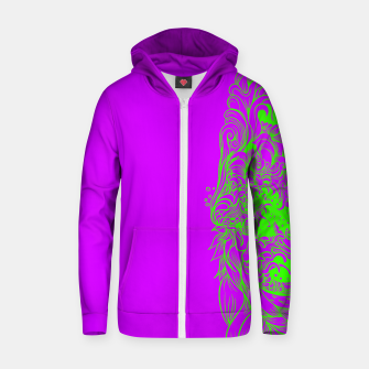 Thumbnail image of Sleeve Strong Zip up hoodie, Live Heroes