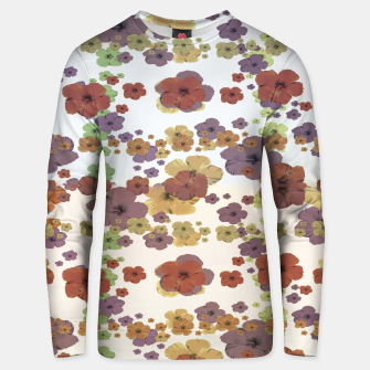 Thumbnail image of Multicolored Floral Collage Print Unisex sweater, Live Heroes