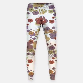 Thumbnail image of Multicolored Floral Collage Print Sweatpants, Live Heroes