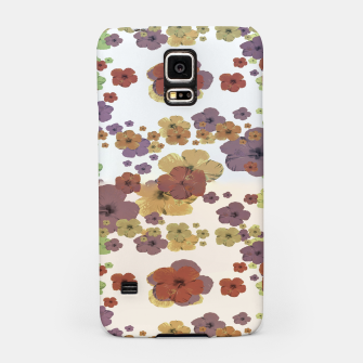 Thumbnail image of Multicolored Floral Collage Print Samsung Case, Live Heroes