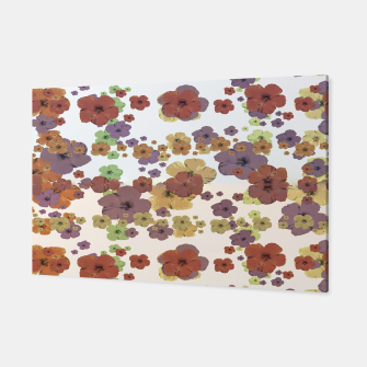 Thumbnail image of Multicolored Floral Collage Print Canvas, Live Heroes