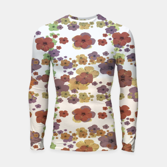 Thumbnail image of Multicolored Floral Collage Print Longsleeve rashguard , Live Heroes