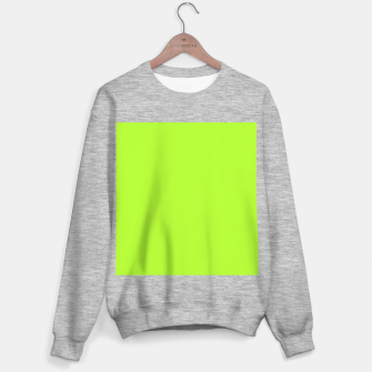 Thumbnail image of color green yellow Sweater regular, Live Heroes