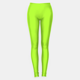 Thumbnail image of color green yellow Leggings, Live Heroes