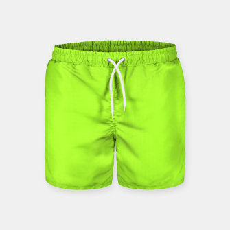 Thumbnail image of color green yellow Swim Shorts, Live Heroes
