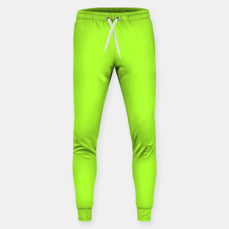Thumbnail image of color green yellow Sweatpants, Live Heroes