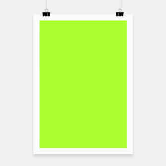 Miniatur color green yellow Poster, Live Heroes