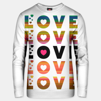 Thumbnail image of LOVE MOMENTS Unisex sweater, Live Heroes