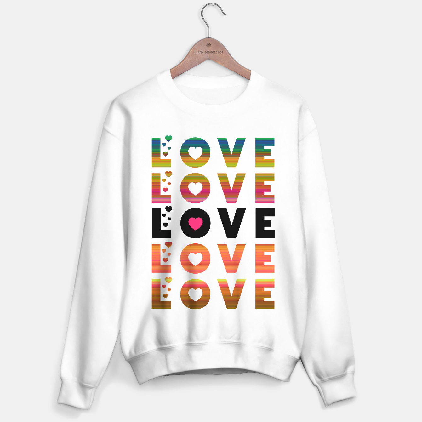 Image of LOVE MOMENTS Sweater regular - Live Heroes