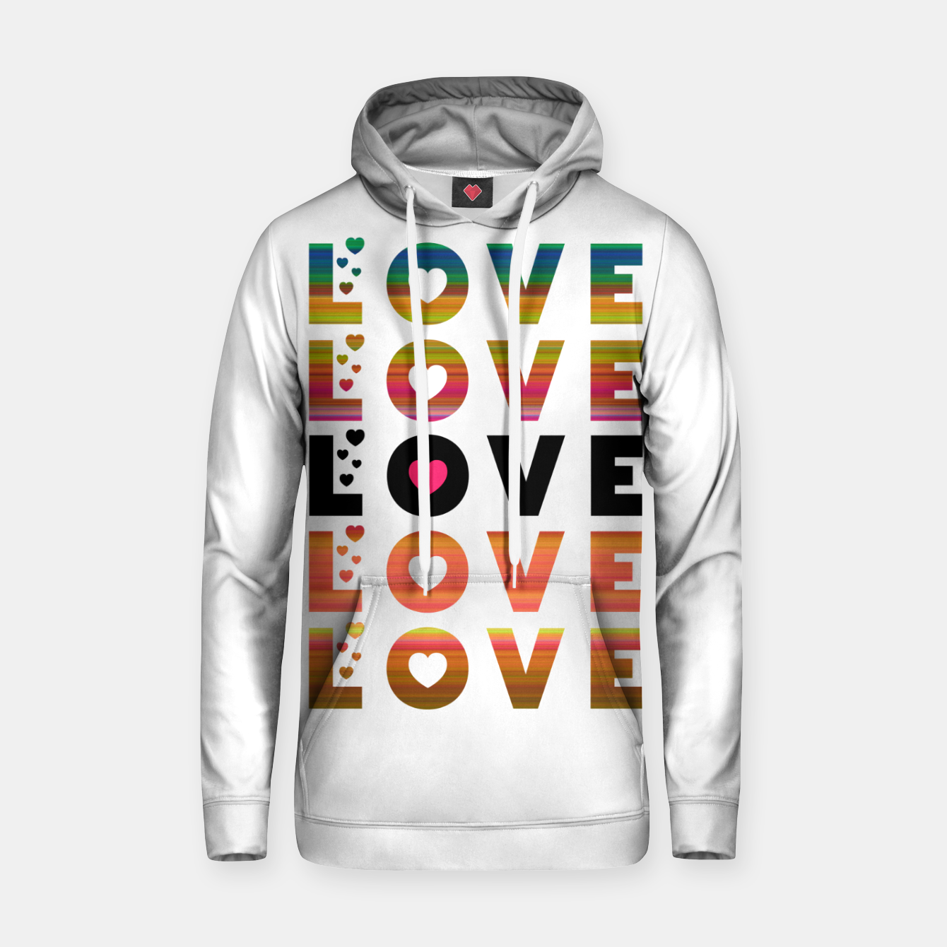 Image of LOVE MOMENTS Hoodie - Live Heroes