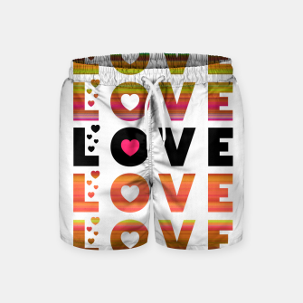 Thumbnail image of LOVE MOMENTS Swim Shorts, Live Heroes
