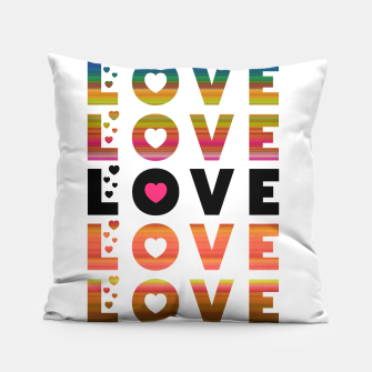 Thumbnail image of LOVE MOMENTS Pillow, Live Heroes