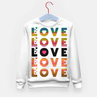 Thumbnail image of LOVE MOMENTS Kid's sweater, Live Heroes