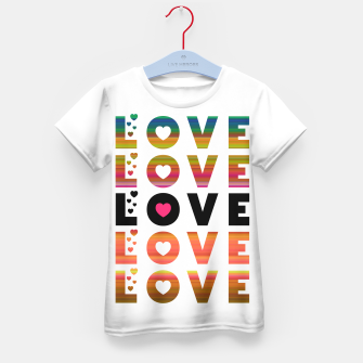 Thumbnail image of LOVE MOMENTS Kid's t-shirt, Live Heroes