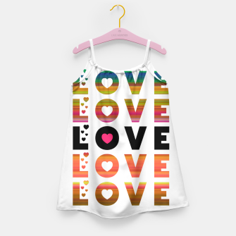 Thumbnail image of LOVE MOMENTS Girl's dress, Live Heroes