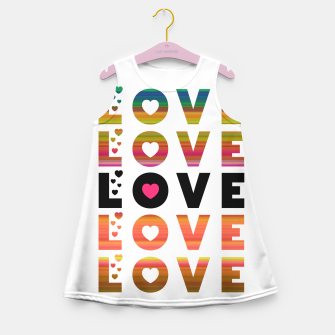 Thumbnail image of LOVE MOMENTS Girl's summer dress, Live Heroes