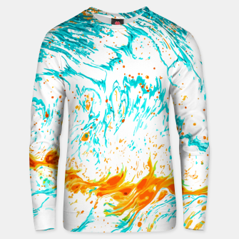 Thumbnail image of Waves of Thought Unisex sweater, Live Heroes