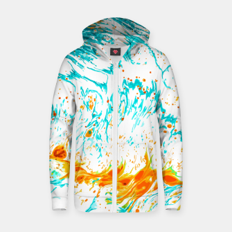 Thumbnail image of Waves of Thought Zip up hoodie, Live Heroes
