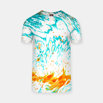 Thumbnail image of Waves of Thought T-shirt, Live Heroes