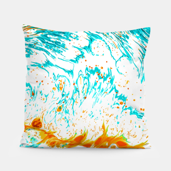 Thumbnail image of Waves of Thought Pillow, Live Heroes
