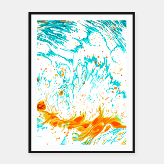 Thumbnail image of Waves of Thought Framed poster, Live Heroes