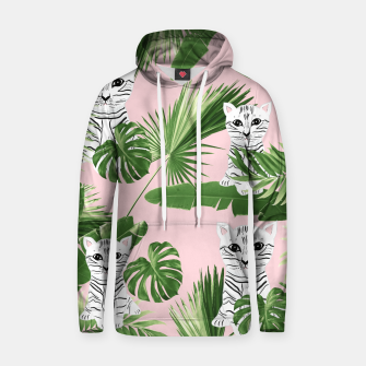 Imagen en miniatura de Baby Cat in the Jungle #1 (Kids Collection) #tropical #animal #decor #art  Kapuzenpullover, Live Heroes