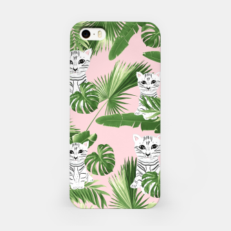 Imagen en miniatura de Baby Cat in the Jungle #1 (Kids Collection) #tropical #animal #decor #art  iPhone-Hülle, Live Heroes