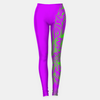 Thumbnail image of Sleeve Strong Leggings, Live Heroes