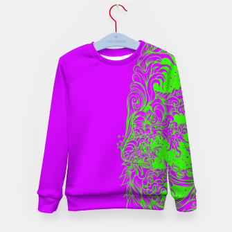 Thumbnail image of Sleeve Strong Kid's sweater, Live Heroes