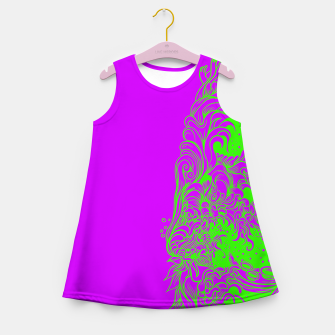 Thumbnail image of Sleeve Strong Girl's summer dress, Live Heroes